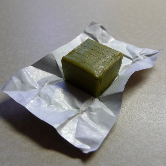 JST06:  Morinaga's Matcha Caramel.